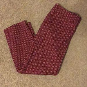 """Loft """"Marisa"""" Side Zip Trouser; sz 12"""